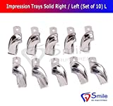 Best Partial Repair Kits - Partial Denture Impression Trays Non-Perforated (Set of 10) Review