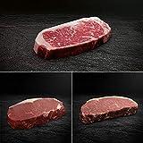 Strip Loin Steak Paket - Rumpsteak, Roastbeef - American Beef, Bison und Hereford | OTTO GOURMET | 3x 300g Steakgenuss