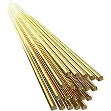 Fesjoy 20 unids Latón Alambre de Soldadura Electrodo 1.6mm * 333mm Varilla de Soldadura No