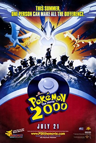 Pokemon The Movie 2000: The Power of One Movie Poster (68,58 x 101,60 cm)