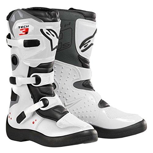 Preisvergleich Produktbild Alpinestars Tech 3S Motocross-Stiefel für Kinder, Weiß