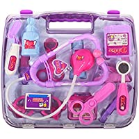 260bb3aedab3 Pinkcream Child Pretend Toy Set Medicine Box Play Doctor Nurse Medical Kit  Playset