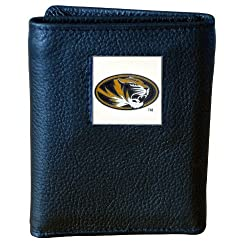 NCAA Missouri Tigers Genuine Leather Tri-fold Wallet