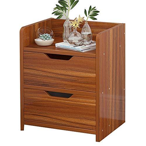 ACZZ Nachttisch Schlafzimmer Schrank Schublade Typ Nachttisch Schrank Schrank Regal,Ahorn Kirsche Farbe -