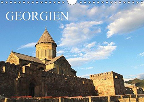 Georgien (Wandkalender 2019 DIN A4 quer): Ein Monatskalender mit farbenprächtigen Fotos aus Georgien (Querformat, 14 Seiten) (Monatskalender, 14 Seiten ) (CALVENDO Orte)