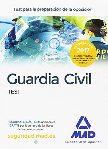 Descarga gratuito Guardia civil. test para la preparación de oposición EPUB!