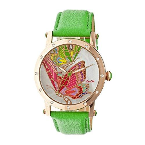 bertha-bthbr4305-orologio-da-polso-da-donna-cinturino-in-acciaio-inox-colore-verde