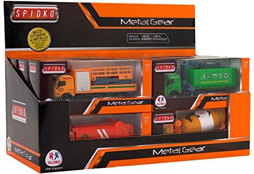 Globo Toys Globo 37490 5 - Camión con diseño de Spidko, en Caja (12 Piezas)