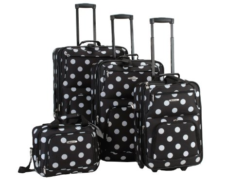 rockland-luggage-dots-4-piece-luggage-set-black-dots-one-size