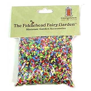 Fiddlehead Fairy Garden Gravel Decorative Stones Fairies Building Supplies (Rainbow Mix)