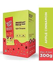 Yogabar Breakfast Protein Apple Cinnamon Bars - 300gm 50g