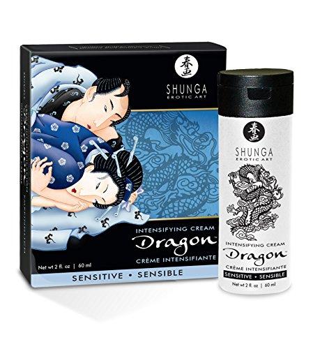 SHUNGA Sensibler Drache, Creme der Männlichkeit, 60 ml