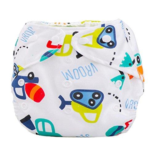 Tefamore Pañales Bebé recién nacido Paño de verano lavable reutili