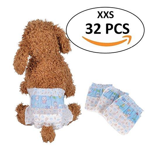 Pañales desechables para perro de Bailuoni para mascotas, para Bichon, Frise, Poodle, etc.