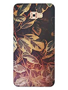 Samsung C7 Pro Back Cover - Artistic Floral Painting - So Girly - Hard Shell Back Case