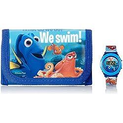 Kids Euroswan - Disney WD16883 Set clock + wallet Finding Dory