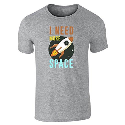 Pop Threads Herren T-Shirt Gr. X-Large, Grau