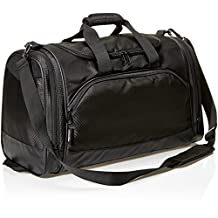 AmazonBasics Sports Duffel - Small, Black