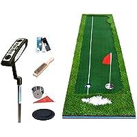 CN Colchonetas Golf Golf Juego Fairway Práctica Manta Interior Oficina Poniendo Práctica 4Cm Espesor de la Hierba,UNA,50 * 300 cm