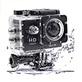 Padraig HD Sports Action Waterproof Camera Work with All Smartphones(Black)