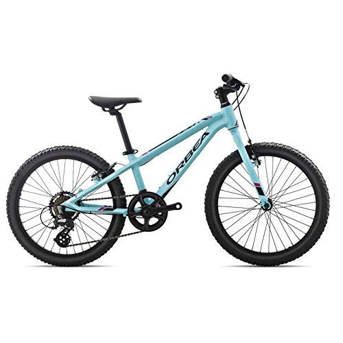Orbea MX 20 Zoll Dirt Kinder Fahrrad 7 Gang MTB Rad Aluminium Mountain Bike, I008, Farbe blau
