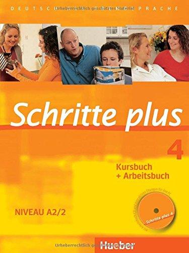 Preisvergleich Produktbild Schritte plus 4: Deutsch als Fremdsprache / Kursbuch + Arbeitsbuch mit Audio-CD zum Arbeitsbuch und interaktiven Übungen (SCHRPLUS)