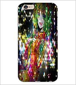 PrintDhaba Cute Girl D-2830 Back Case Cover for APPLE IPHONE 6S (Multi-Coloured)