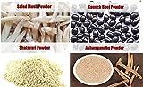 #7: Jadibuti Shatavar, Safed Musli, Kaunch Beej & Ashwagandha Powders (100 GM)Combo