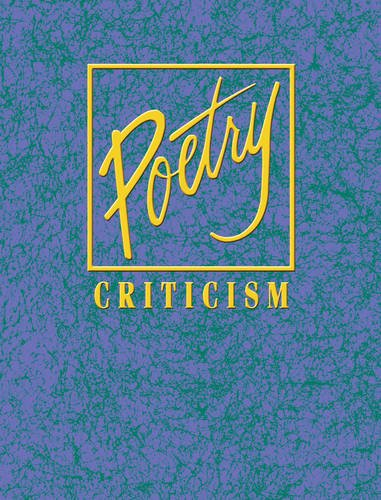 Poetry Crit V36 (Poetry Criticism, Band