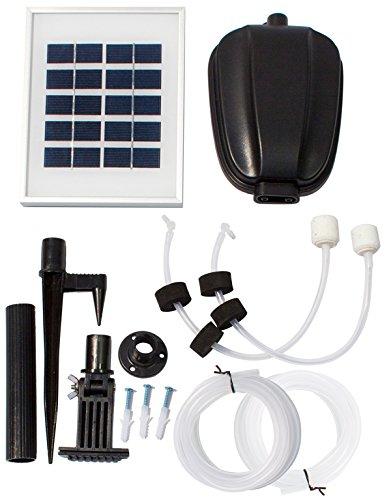 Solarbetriebener Sauerstoffgenerator mit zwei Sauerstoffsteinen