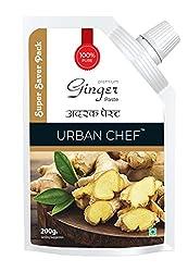 Urban Chef Ginger paste-200 Grams