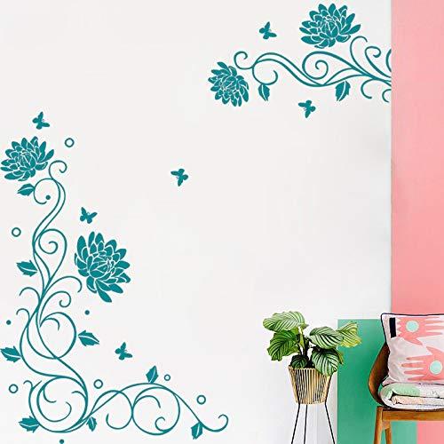 adesivo di arte della parete citazione cucina decalcomania saluto Adesivi murali in vinile rimovibile per arredamento ristorante ~ 1 120 * 136 cm