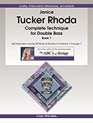 Complete Technique for Double Bass, Book 1 by Janice Tucker Rhoda (2014-08-15)
