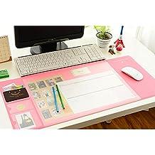 Saflyse New Design groß Schreibtischunterlage Computer schreibtischunterlage (pink)