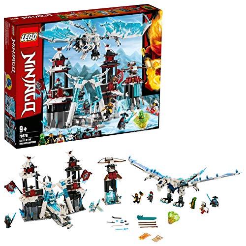 LEGO®-NINJAGO® Le château de l'Empereur oublié Jeu pour Enfant 9 Ans et Plus, Briques de Construction Garçon et Fille, 1218 Pièces 70678