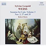 Weiss: Sonatas for Lute, Vol. 3