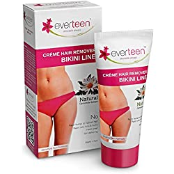 everteen Hair Remover Creme 50g for Bikini Line & Underarms - 1 Pack