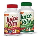 Juice Rite - Integratore Frutta e Verdura 100% Naturale Vegetariano &...