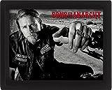 Posters: Sons Of Anarchy Poster 3D (encadré) - Jackson Jax Teller, Poster 3D Encadré (25 x 20 cm)