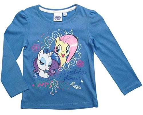 Pony Kostüm Rarity My Little - Pony My Little Kollektion 2017 Langarmshirt 92 98 104 110 116 122 128 Rarity und Fluttershy Fliederblau (92-98, Fliederblau)