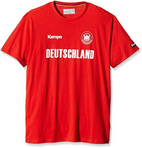 Kempa T-Shirt Deutschland Rot, XXS/XS