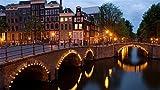 HCYEFG Puzzle Reguliersgracht Corner Amsterdam Puzzle Regalo per Ragazza Adulto Fai da Te Fatto A Mano 1000Pezzi