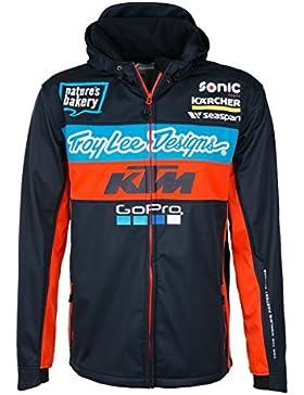 Chaqueta Troy Lee Designs KTM Team Pit Tech Azuloscuro