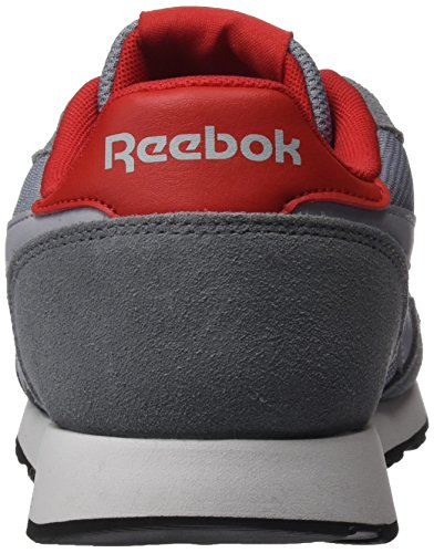 Reebok Royal Ultra, Sneakers Basses Homme Gris (Asteroid Dust/Meteor Grey/Cloud Grey/Red/White/Black)