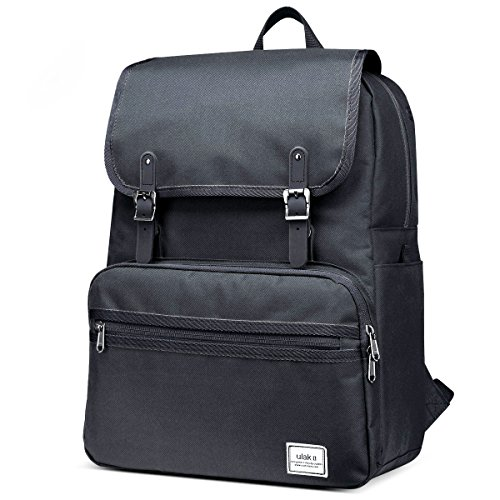 ULAK-Casual-Lightweight-College-Backpack-Fits-156-inch-Laptop-Bag-School-Travel-Daypack