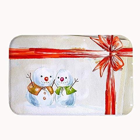 whiangfsoo natalizia pupazzo di neve cucina e bagno porta tappetini Capet, #07, 20