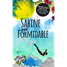 Sabine est formidable: Coloriages positifs avec votre prénom