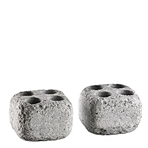 Pierres vapeur en stéatite pour le Sauna -Höyrykivet- trous: 20 ml x 4, 2 pcs (Hukka Design)