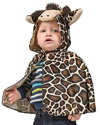 Kostüm Giraffe Baby - Kostüm Baby Cape Giraffe Babykostüm Einheitsgröße Karneval Fasching Pierros