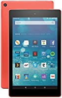 """Fire HD 8 Tablet, 8"""" HD Display, Wi-Fi, 16 GB (Tangerine) - Includes Special Offers"""